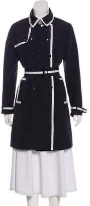 Jane Post Knee-Length Trench Coat