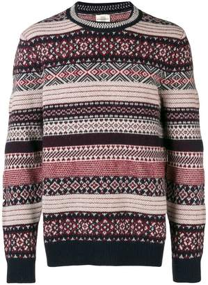 Kent & Curwen striped jumper