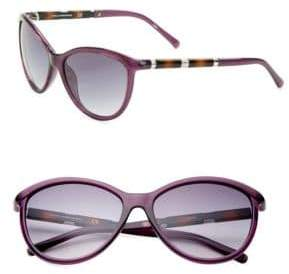 Diane von Furstenberg Reese 58MM Cat Eye Sunglasses