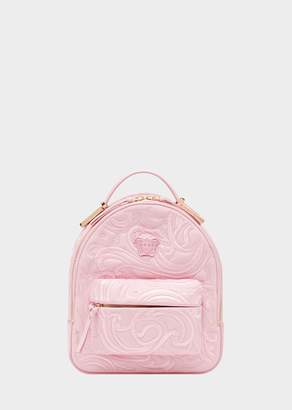 Versace Embroidered Baroque Mini Backpack
