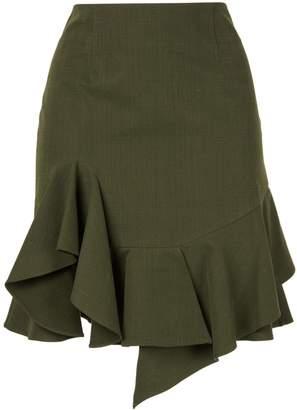GOEN.J ruffle mini skirt
