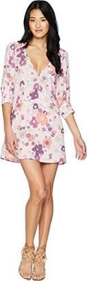 For Love & Lemons Women's Magnolia Trapeze Mini Dress