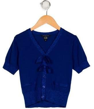 Little Marc Jacobs Girls' Knit Cardigan