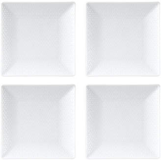 Wedgwood Gio Square Mini Plates, Set Of 4