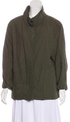 The Great Oversize Button-Up Top