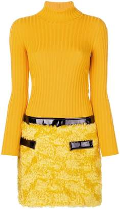Moschino mini turtleneck dress