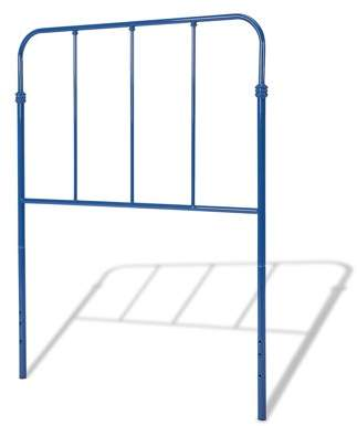 Leggett & Platt Nolan Metal Kids Headboard, Colbalt Blue Finish, Twin