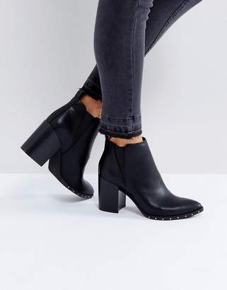 Office Isabella Studded Heeled Ankle Boots