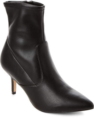 Marc Fisher Black Adia Pointed Toe Booties