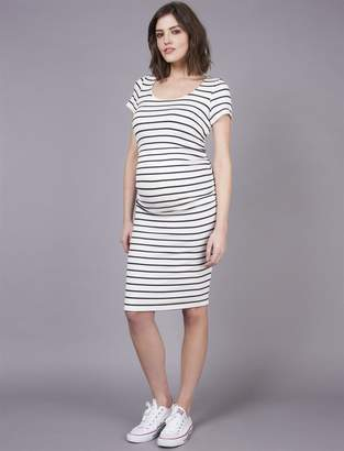 Seraphine Side Ruched Maternity Dress