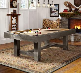 Pottery Barn Pool Table with Table Tennis Cover Set