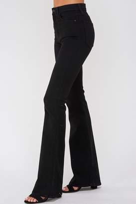 Just Black Flare Bottom Jeans