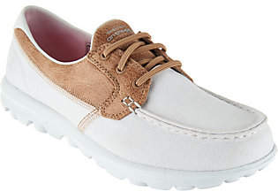 Skechers On-the-GO Boat Shoes with Goga Mat - Seaside $54.98 thestylecure.com