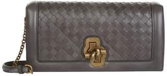 Bottega Veneta Leather Intrecciato Knot Bag