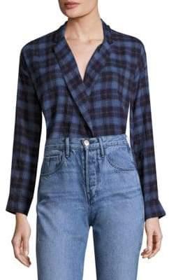 3x1 Moxy Plaid Wrap Shirt