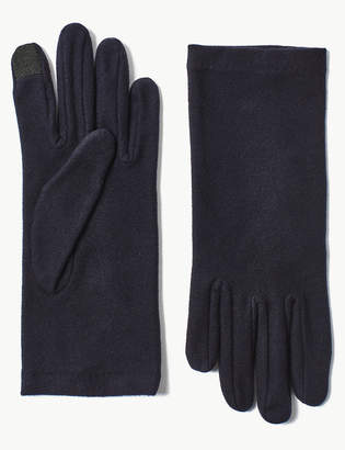 M&S Collection Touch Screen Fleece Gloves