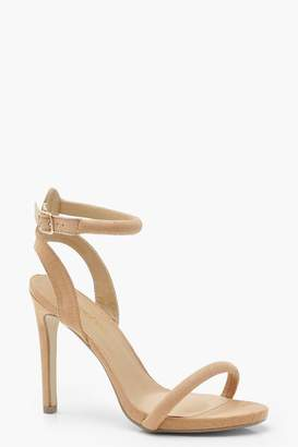 boohoo Skin Tone Two Part Heels
