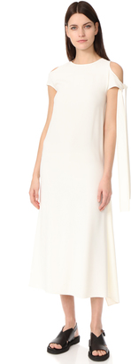 Helmut Lang Sleeve Tie Dress $595 thestylecure.com