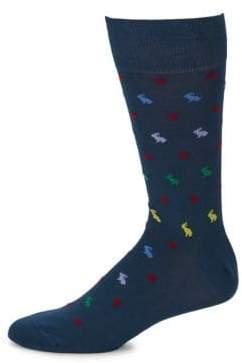 Paul Smith Rabbit Print Socks