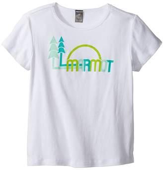 Marmot Kids Scout Short Sleeve Tee Girl's T Shirt