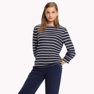 Tommy Hilfiger Boat Neck Jersey Top