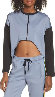 Koral Ace Colorblock Front Crop Jacket