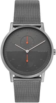 Skagen Kristoffer Stainless Steel Mesh Bracelet Watch