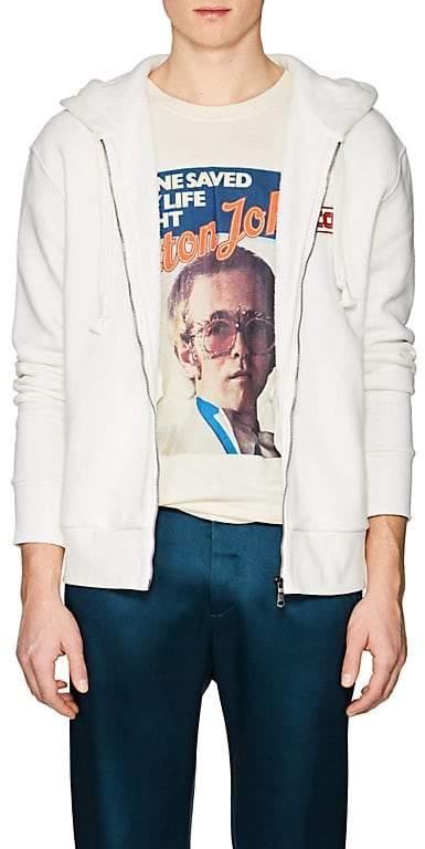 Men's Appliquéd Cotton French Terry Hoodie