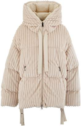 Moncler Loire velvet down jacket