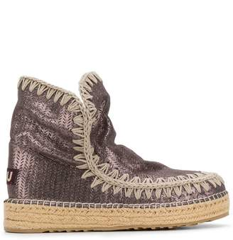 Mou perforated Eskimo boots