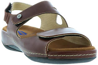 Wolky Double Strap Leather Sandals - Liana