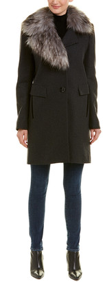 Sam Edelman Walker Wool-Blend Coat