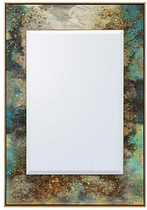 John-Richard Collection Galactic Oversize Wall Mirror - Gold Leaf