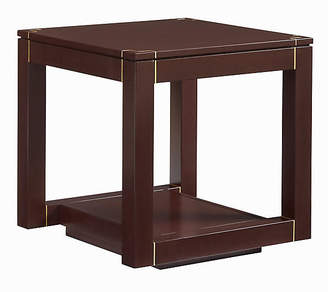 One Kings Lane Panorama Parsons Side Table - Garnet
