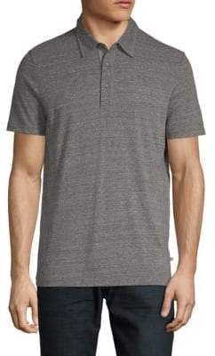 AG Jeans Short-Sleeve Heathered Polo