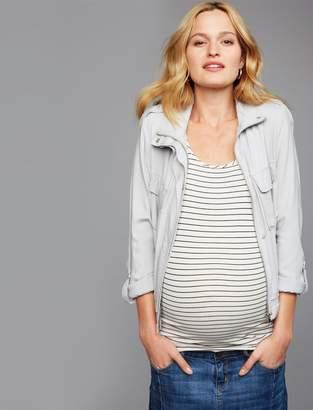 BB Dakota Jack by Open Front Maternity Jacket