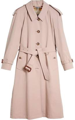 Burberry Side-slit Tropical Gabardine Trench Coa