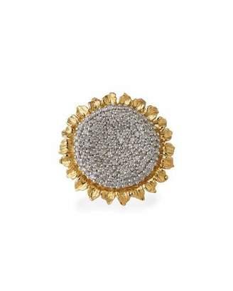 Michael Aram 18k Vincent Ring w/ Diamonds, Size 7