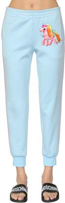 Moschino Little Pony Cotton Blend Sweatpants