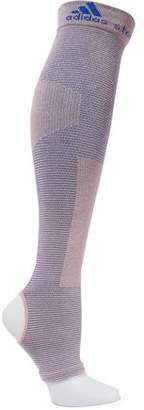 adidas by Stella McCartney Cutout Ribbed Cotton-Blend Socks