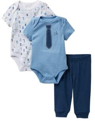 Calvin Klein Bodysuits & Pants Set (Baby Boys)