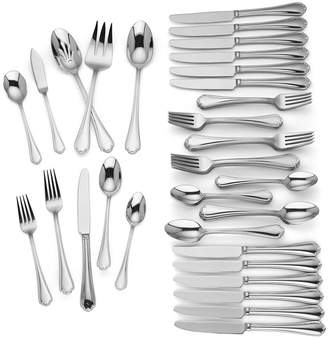 Lenox Chelsea Muse 65-Pc. 18/10 Stainless Steel Flatware Set, Service for 12, Created for Macy's