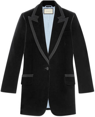 Embroidered velvet jacket $3,800 thestylecure.com