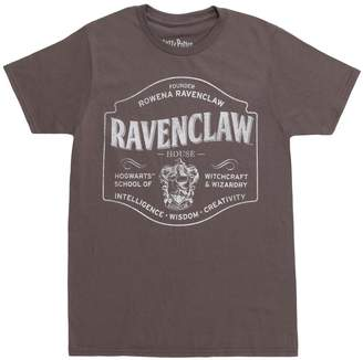 Bioworld Harry Potter Ravenclaw Traits Adult T-Shirt - Grey