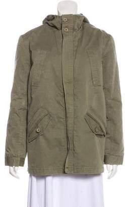 Anine Bing Hooded Utility Jacket