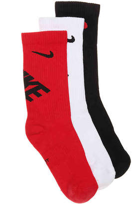 Nike Performance Cushioned Youth Crew Socks - 3 Pack - Boy's