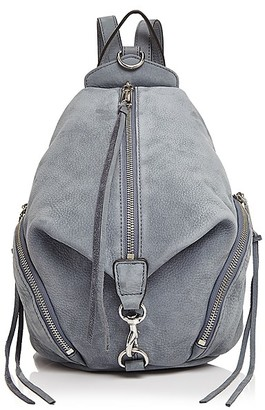 Rebecca Minkoff Julian Medium Nubuck Backpack $275 thestylecure.com