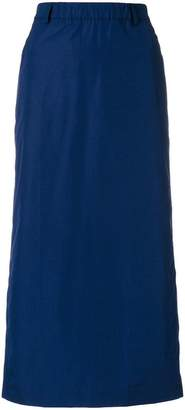 Aspesi straight midi skirt