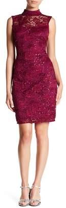 Marina Embellished Lace Dress (Petite)