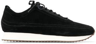 Grenson contrast sole sneakers